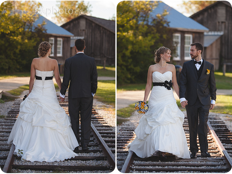 080-Train-tracks-wedding-couple-Region-Museum-Wedding-trai n-shot