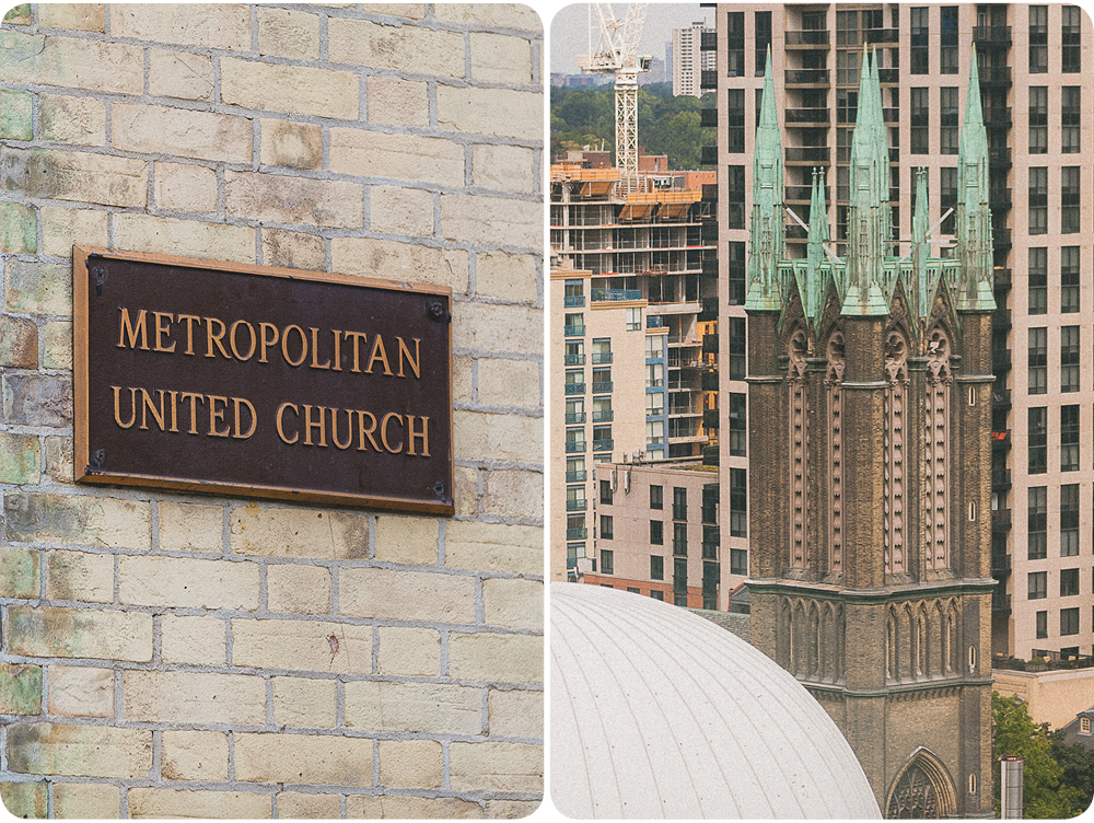 The picture on the right is the view of the Church from Melissa's room in the Cambridge suites hotel.